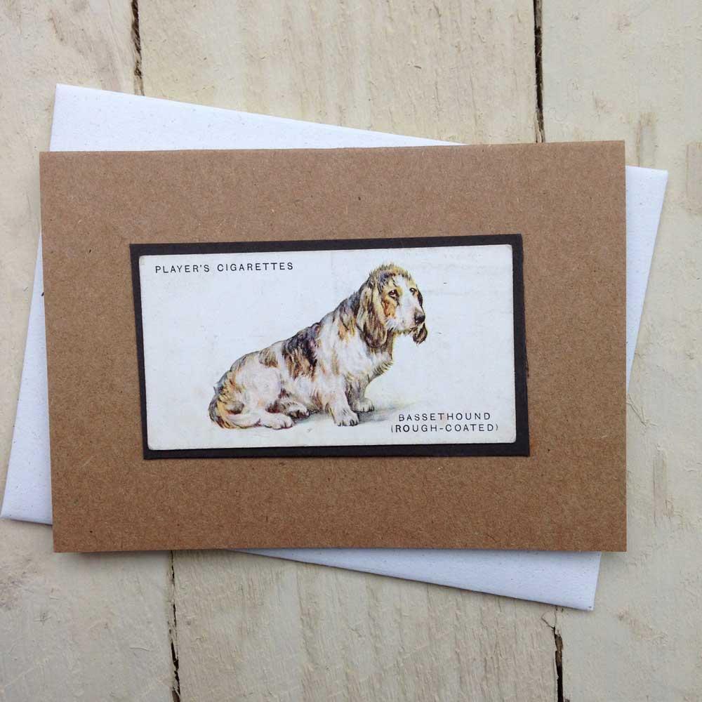 Bassett Hound card - The Enlightened Hound