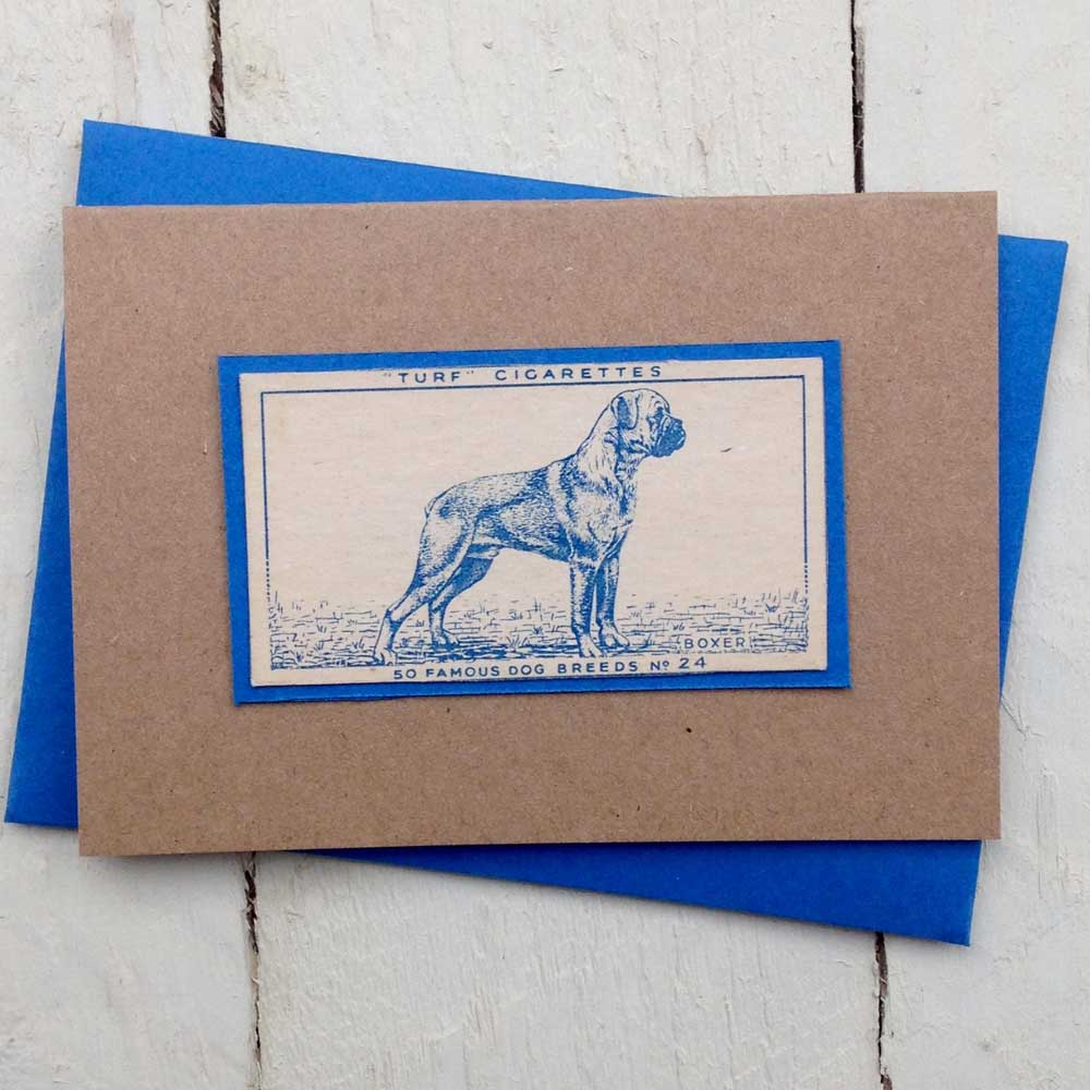 Boxer Dog Greeting Card- The Enlightened Hound