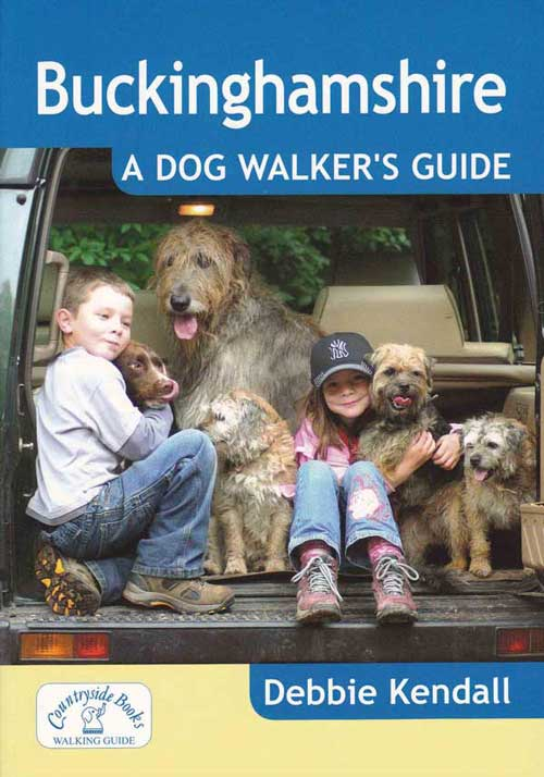 Buckinghamshire Dog Walkers Guide Book Debbie Kendall