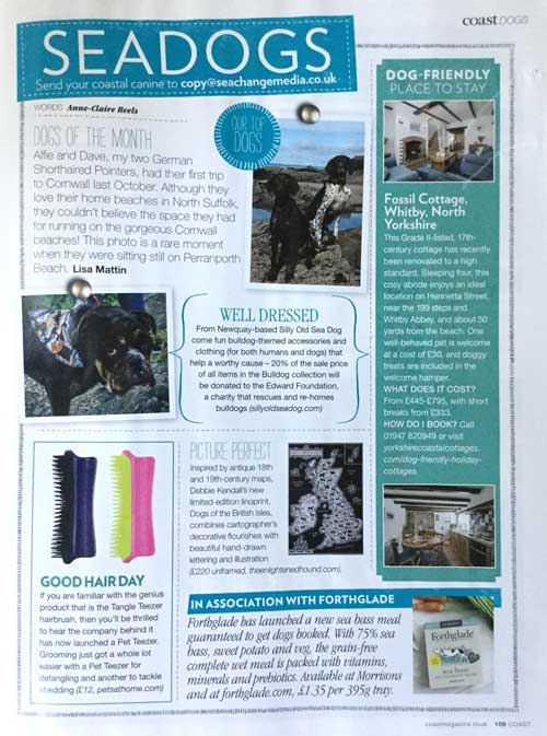 The Enlightened Hound in Coast magazine