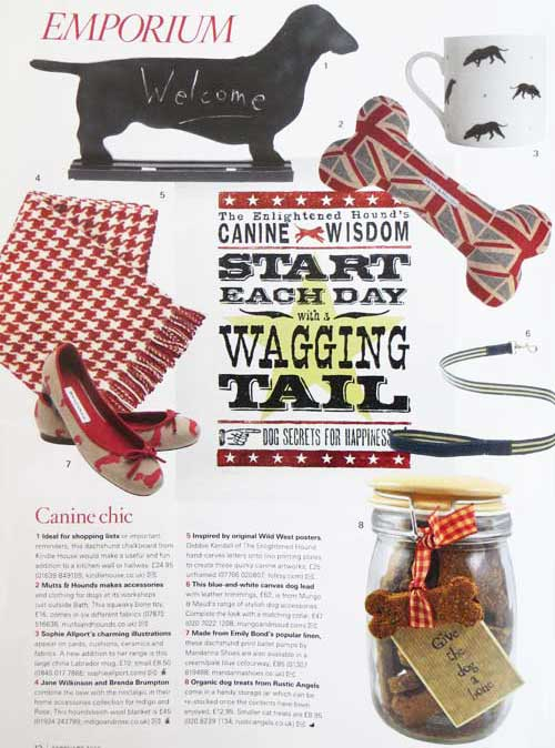 The Enlightened Hound in Country Living Magazine