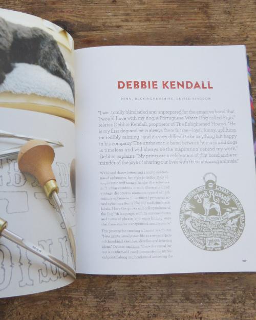 Debbie Kendall profile in Uppercase Compendium