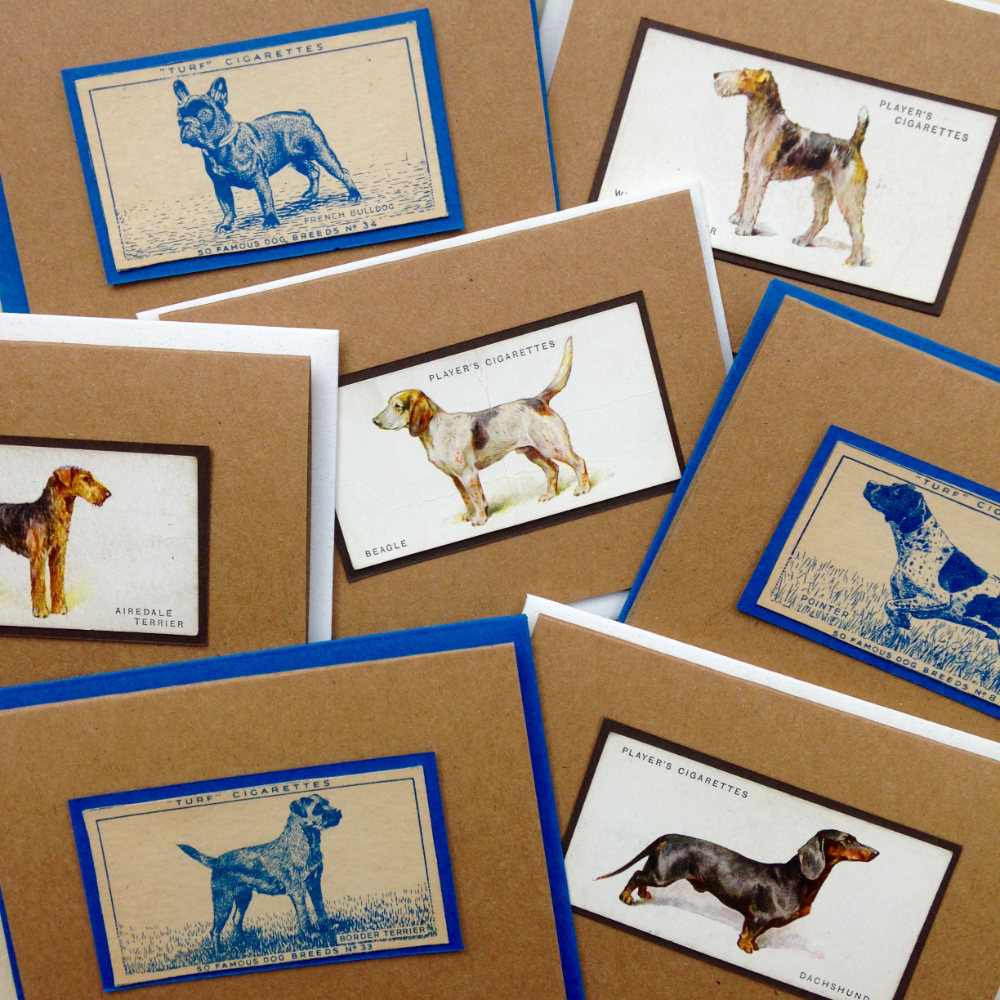 Vintage Dog Breed Cards