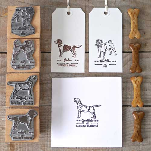 Rubber Dog Breed Stamps English Stamp Company