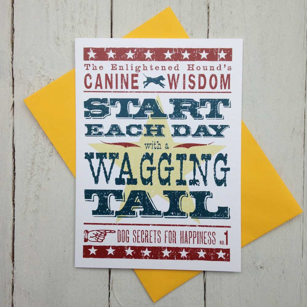 Canine Wisdom Card No.1