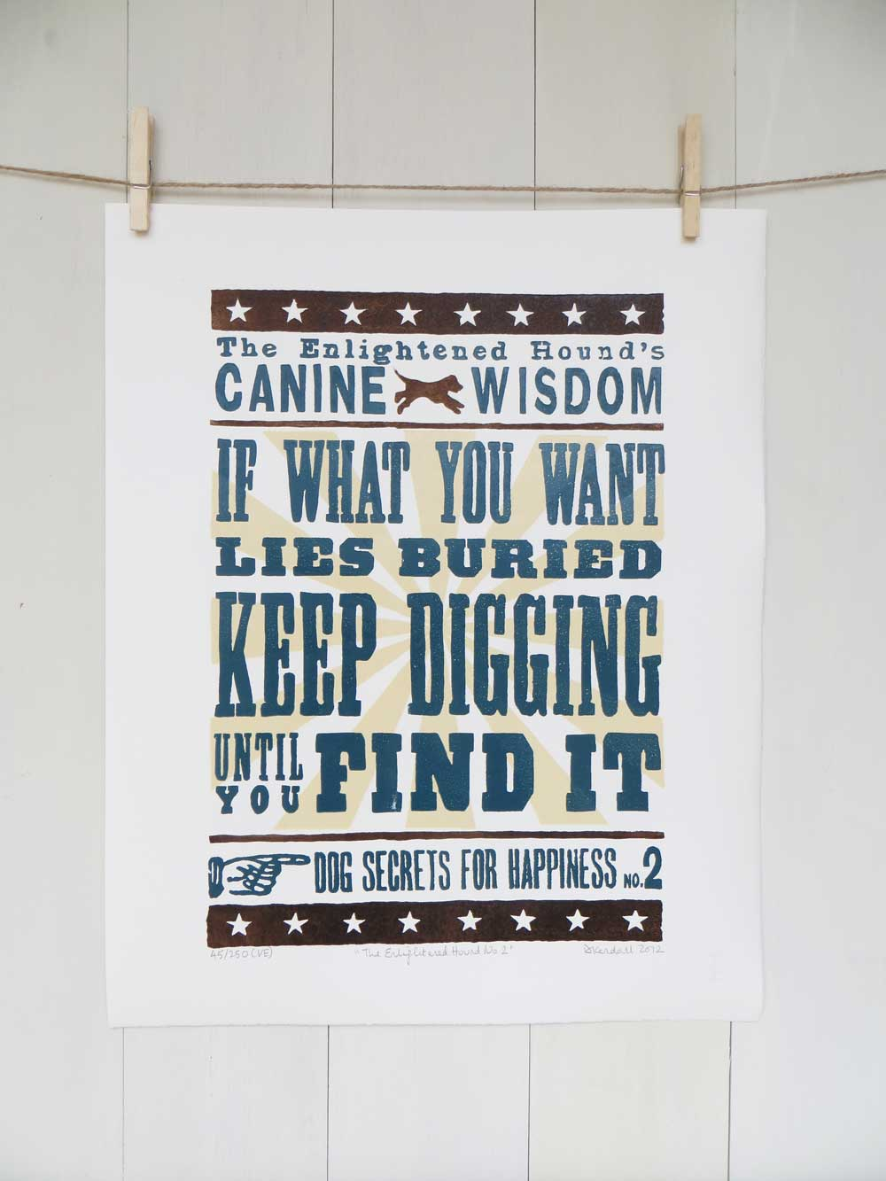 Inspirational Dog Sayings Prints No2