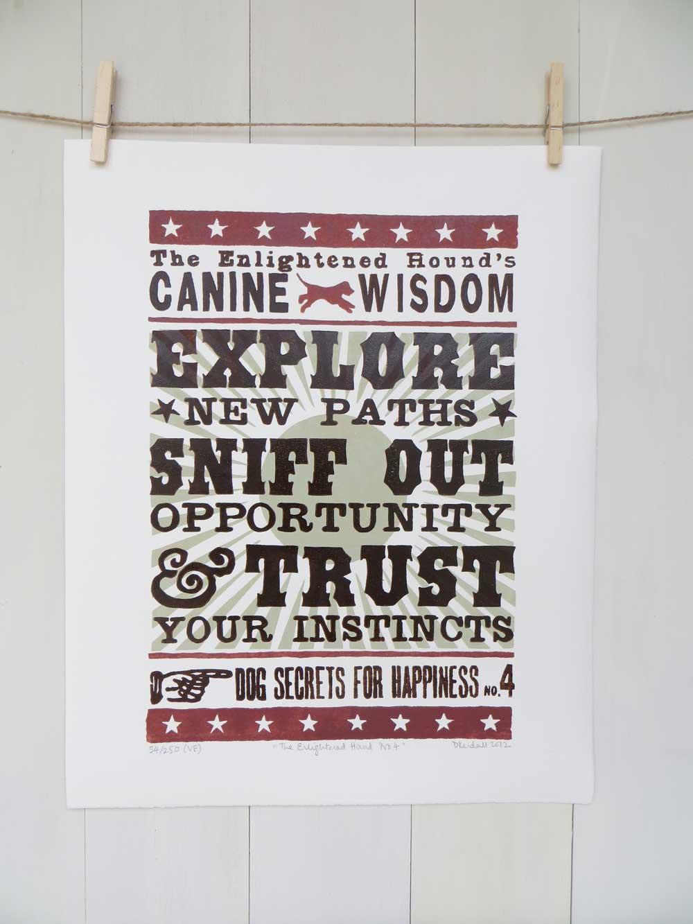 Canine Wisdom Print No.4