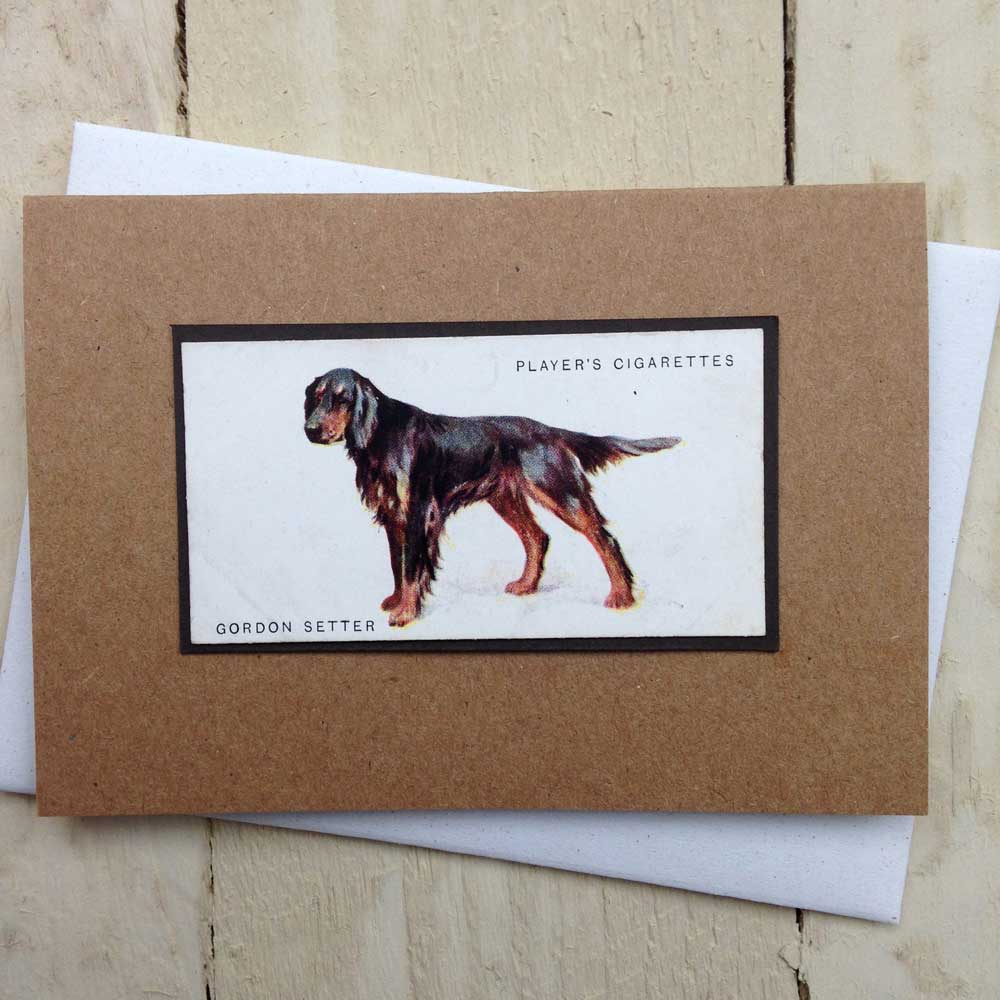 Gordon Setter card - The Enlightened Hound