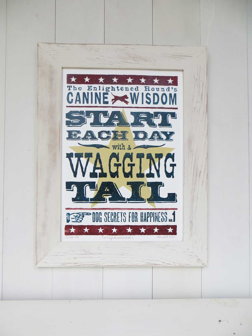 Inspirational quotes - gift for dog lovers - The Enlightened Hound