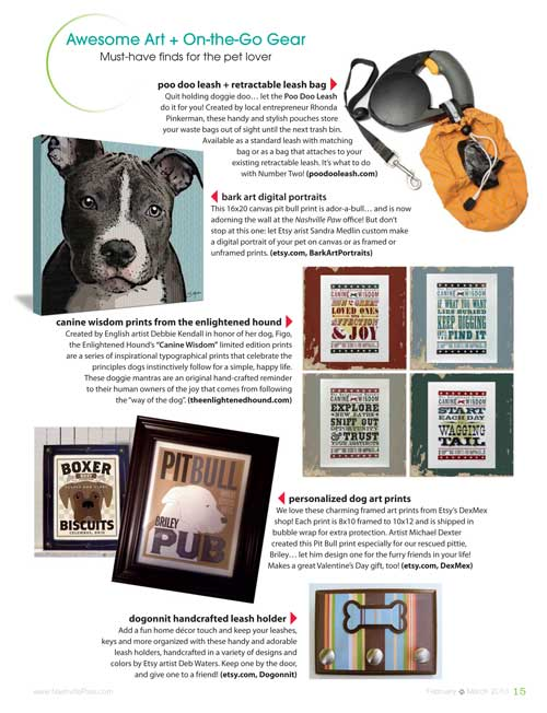 The Enlightened Hound in Nashville Paw magazine