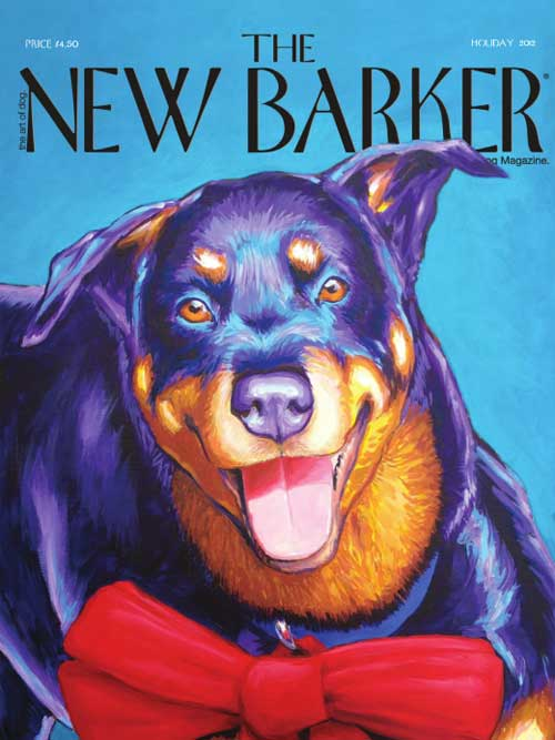 New Barker Magazine cover