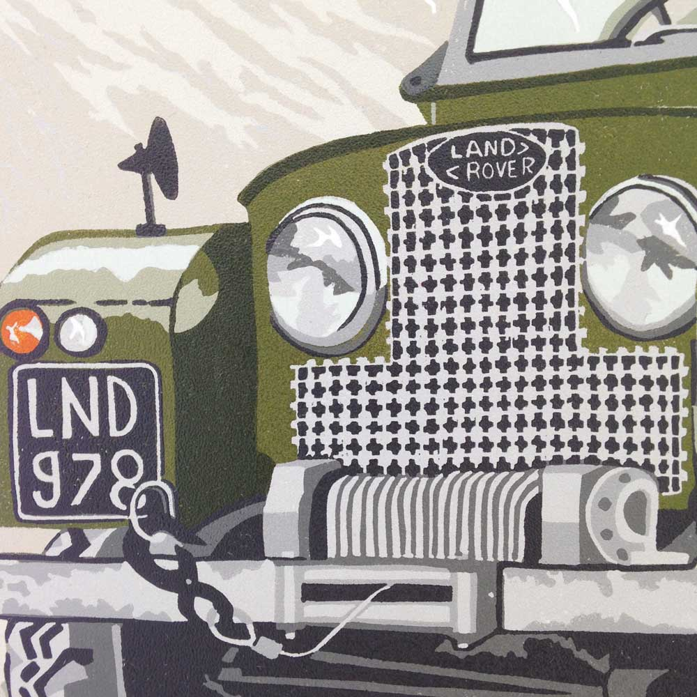 Old Land Rover Series 1 by Debbie Kendall