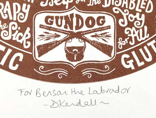 Personalized Gift for Dog Lovers - The Enlightened Hound
