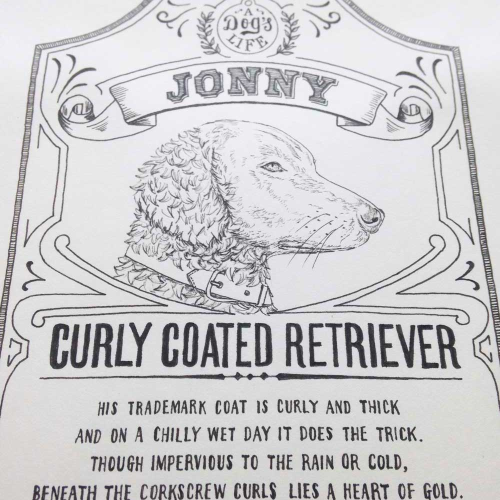 Personalised poem for dog lover by The Enlightened Hound