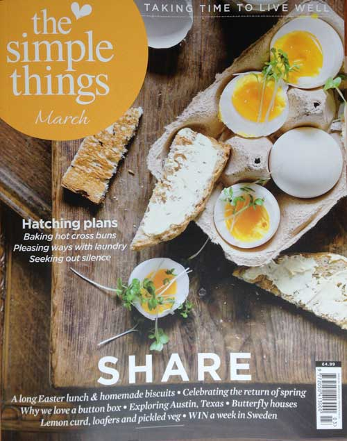 Simple Things Magazine cover