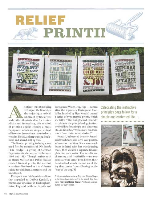 The Enlightened Hound in The Bark magazine