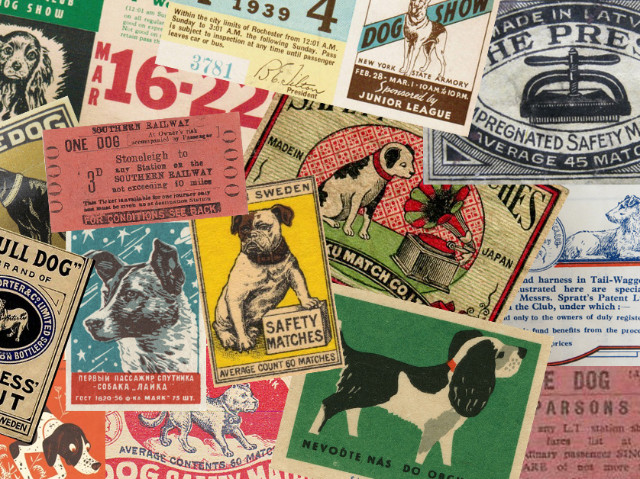 Vintage Dog Ephemera