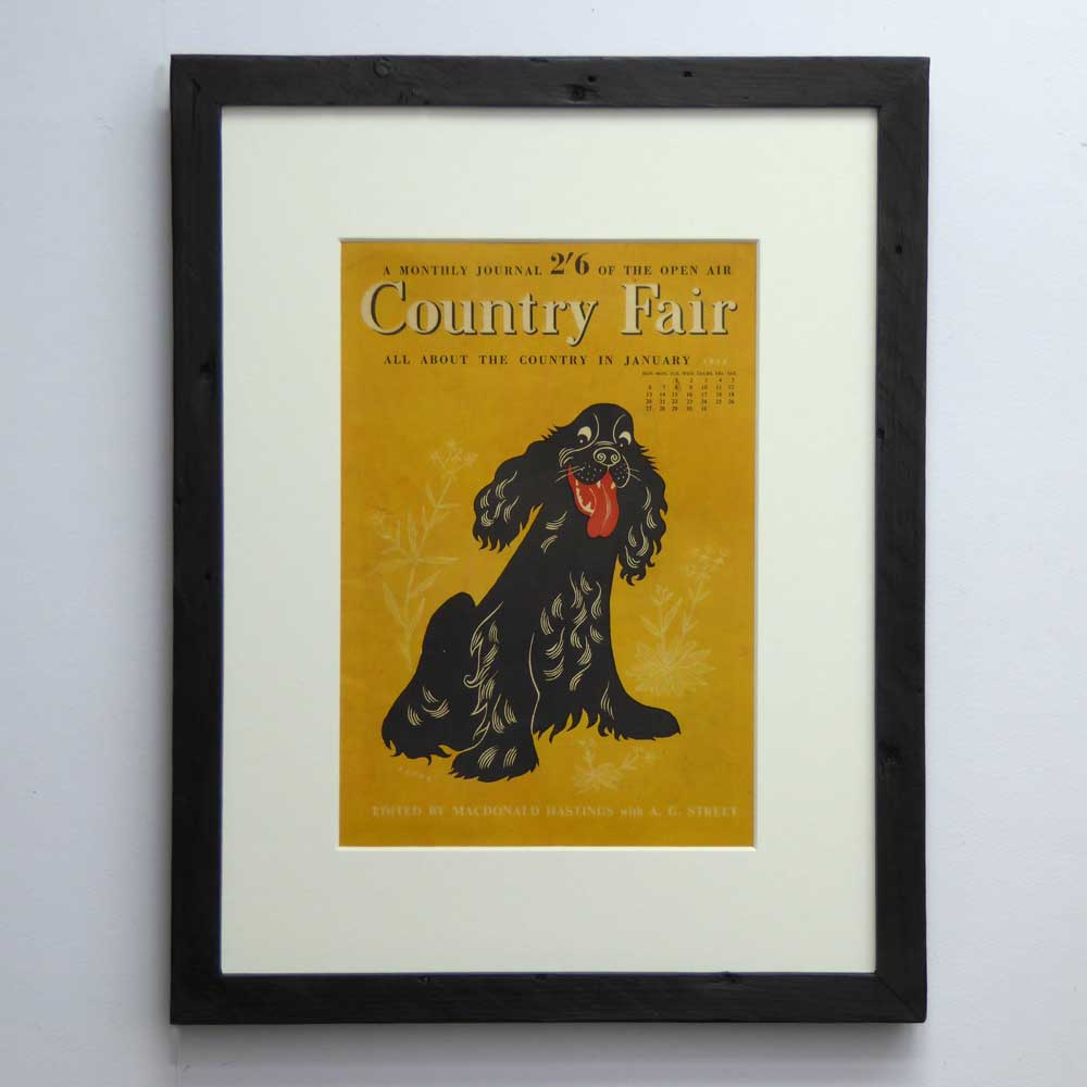 Cocker Spaniel Lover Vintage Dog Art Gift By The Enlightened Hound